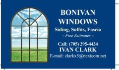 Bonivan Windows